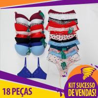 Kit Sucesso de Vendas - 18 Peças