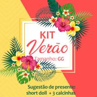 kit verão -5 peça (GG)