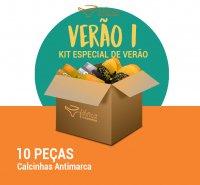 Kit Verão I- Calcinha Antimarca- 10 peças