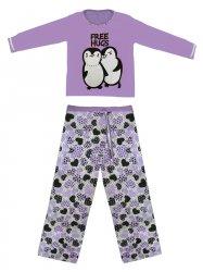 Imagem - Pijama Feminino Manga Longa Pinguim cód: 43273008