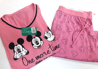 Imagem - Pijama Feminino Mickey Manga Longa cód: 43214017