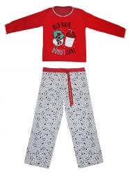Imagem - Pijama Infantil - Calça e Blusa Estampada cód: 41270001