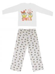 Imagem - Pijama Plus Calça e Blusa Estampadas cód: 38733008