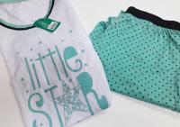 Imagem - Pijama Plus Size - Calça e Blusa Estampada cód: 43230011