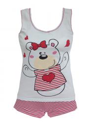 Imagem - Short Doll listrado Infantil cód: 40061
