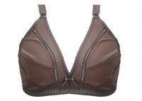 Imagem - Sutiã Plus Size Cetinete Reforçado - Detalhe Renda Vazada na Frente cód: 41343003