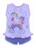 short dool em Allgodao Infantil