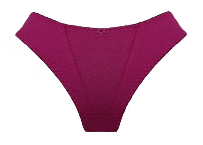 c0dae84ac Calcinha Cintura Alta em Algodão 889 - Pink - Calcinhas