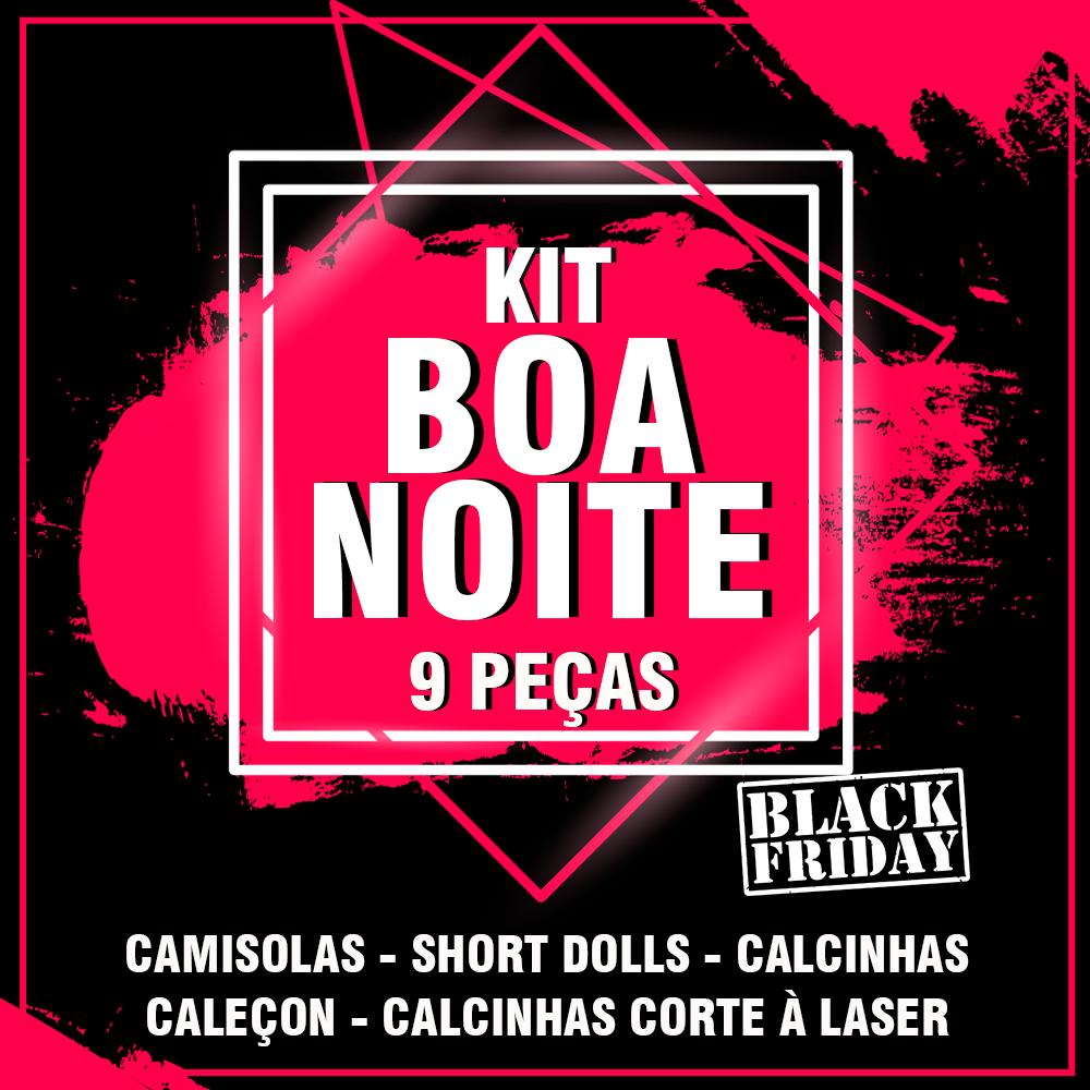 91fcf724d Kit Boa Noite- Black Friday Kit Boa Noite - Diversas - Calcinhas ...