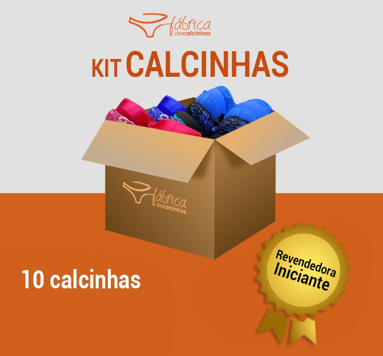 3998c6bbe29ca Kit Calcinhas 11 Peças Revenda
