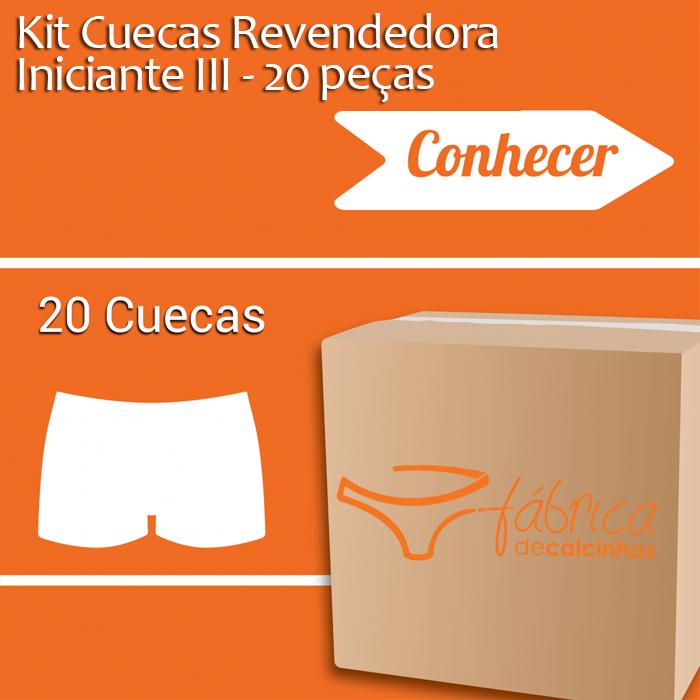 d1873e989106cc Kit Cuecas Revendedora Iniciante III