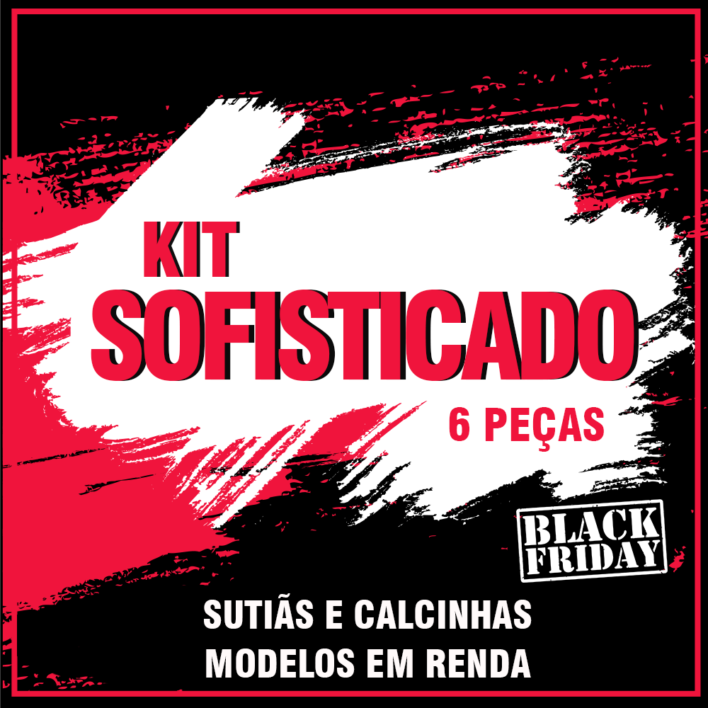 d9852bd50 Kit Sofisticado- Black friday kit - Diversas - Calcinhas