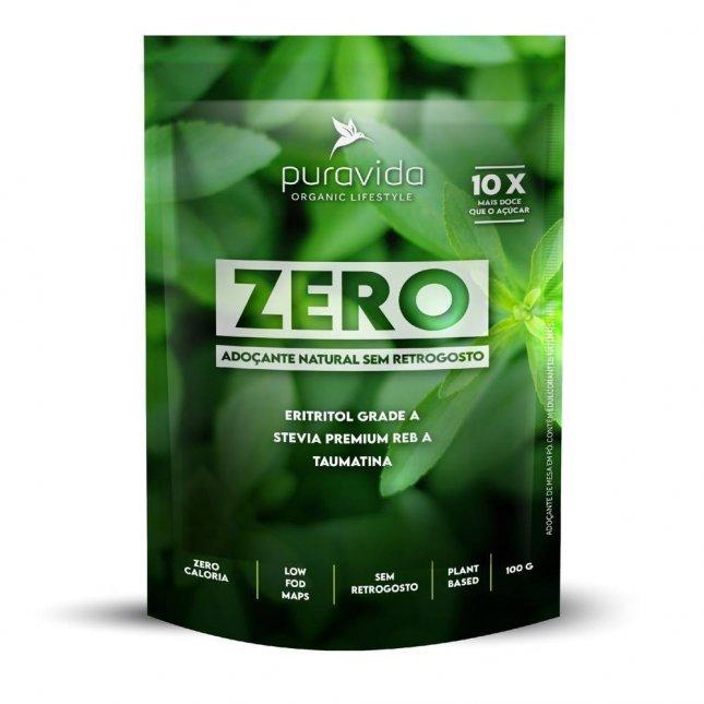 Adoçante natural zero PURA VIDA 100g