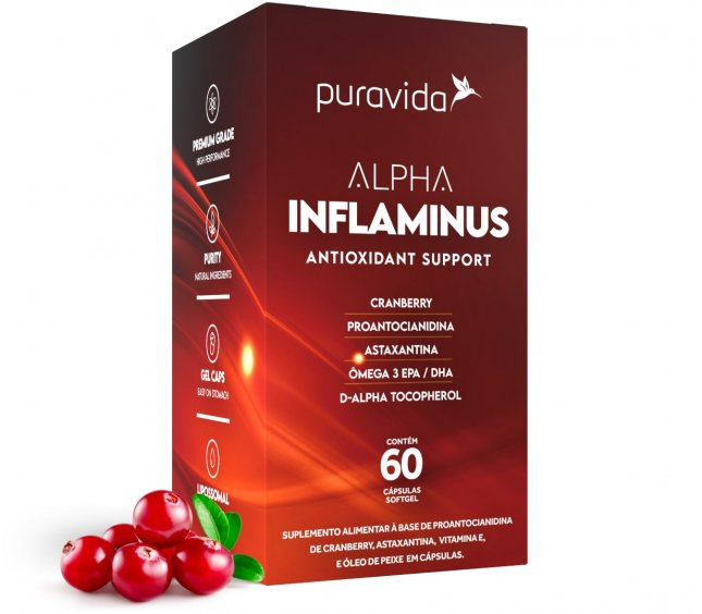 Alpha inflaminus PURA VIDA 60 capsulas