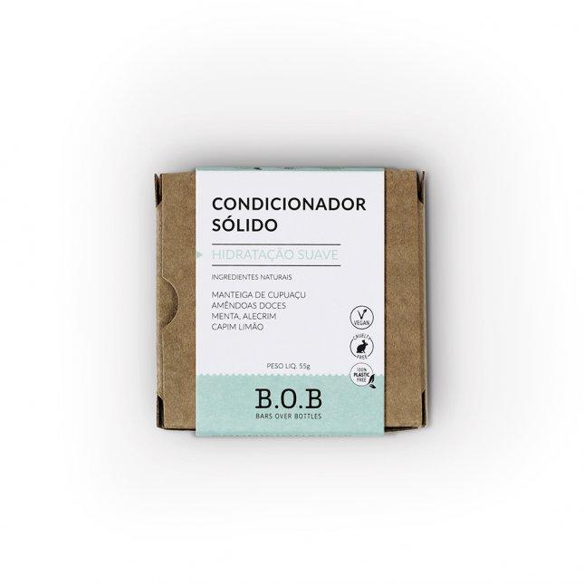 Condicionador sólido hidratação suave B.O.B 55g