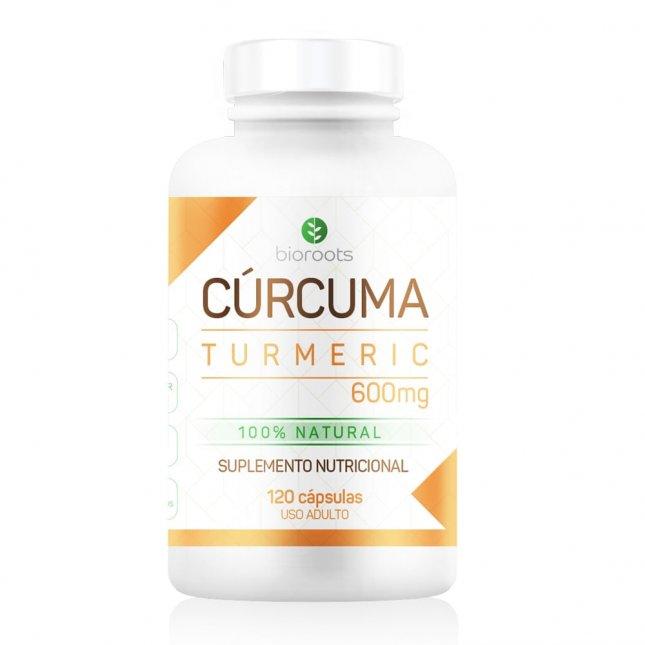 Curcuma turmeric BIOROOTS 120 capsulas