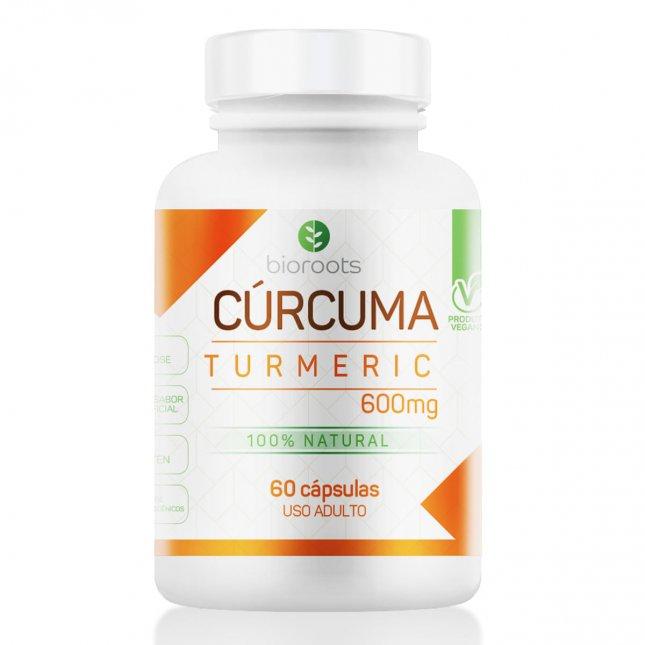 Curcuma turmeric BIOROOTS 60 capsulas