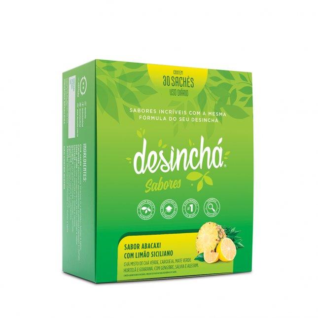 Desinchá abacaxi com limão siciliano 30 sachês