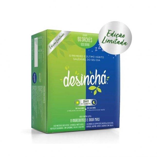 Desinchá Dia + Noite 60 sachês