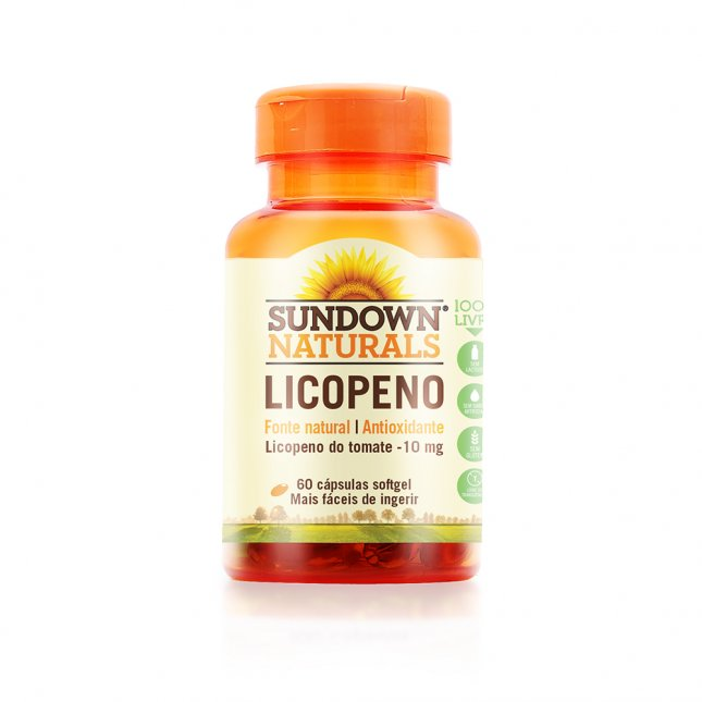Licopeno 10mg SUNDOWN 60 unidades