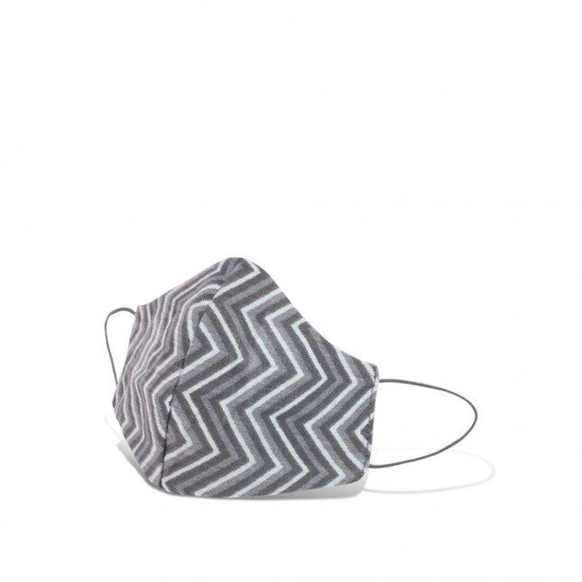 Máscara de proteção geométrica