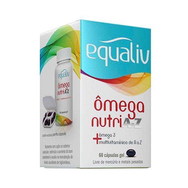 Ômega nutri a-z EQUALIV 60 cápsulas