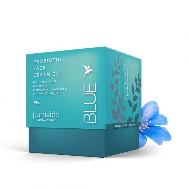Probiotic face cream gel PURA VIDA 50g