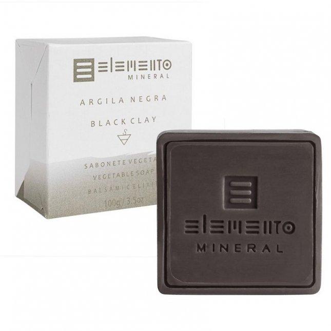 Sabonete argila negra ELEMENTO 100g