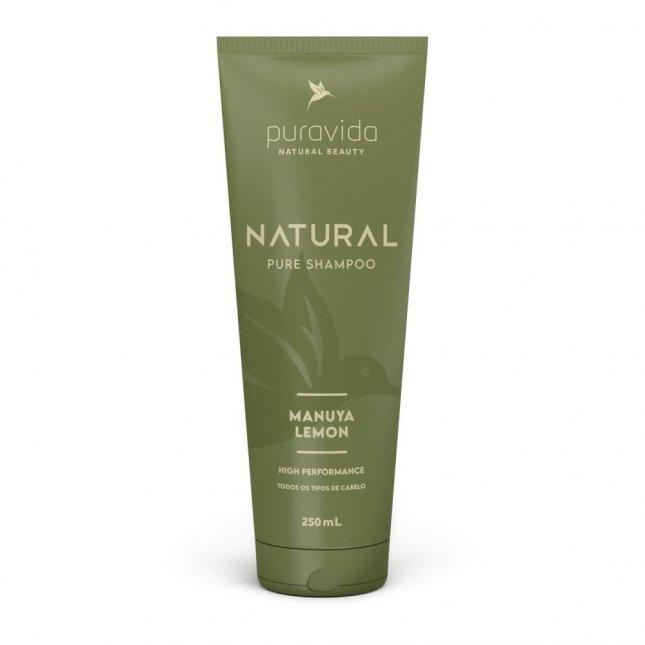 Shampoo natural manuya lemon PURA VIDA 250ml