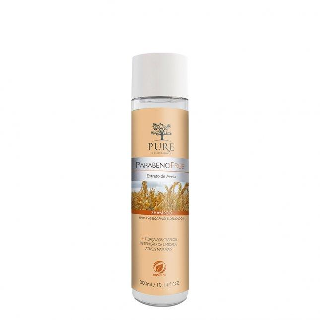 Shampoo PURE 300ml extrato de aveia