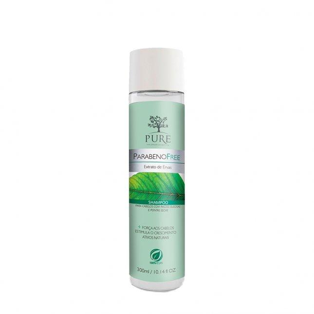 Shampoo PURE 300ml extrato de ervas