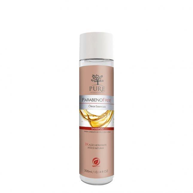 Shampoo PURE 300ml óleos essenciais