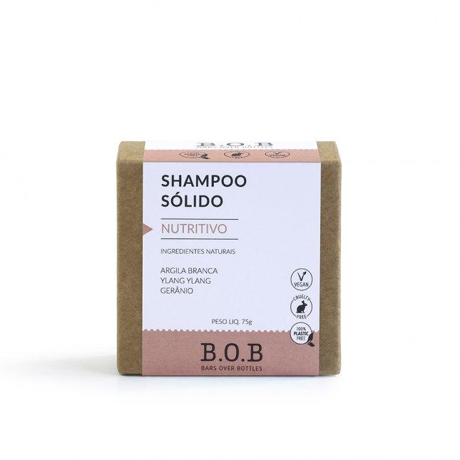 Shampoo sólido nutritivo B.O.B 80g