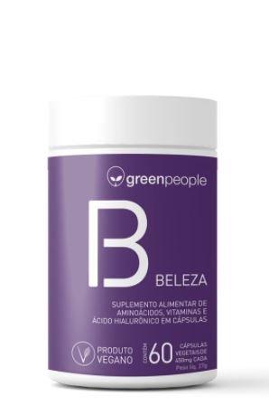 Vitamina beleza vegano GREENPEOPLE 60 cápsulas