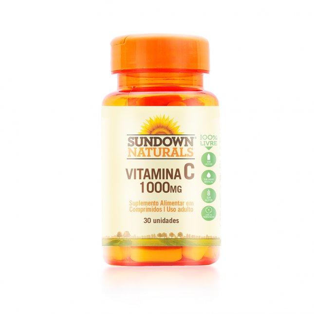 Vitamina C 1000mg SUNDOWN 30 cápsulas
