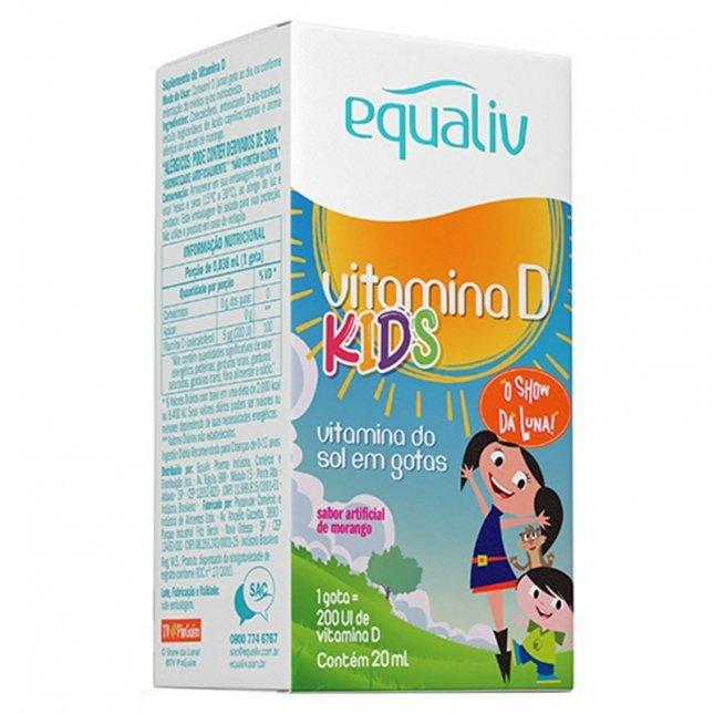 Vitamina D kids EQUALIV 20ml