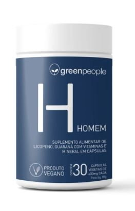 Vitamina homem vegano GREENPEOPLE 60 cápsulas