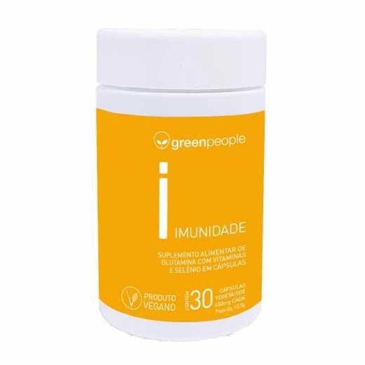 Vitamina imunidade vegano GREENPEOPLE 60 cápsulas