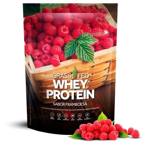 Whey protein PURA VIDA 450g framboesa