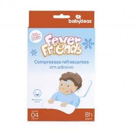 Imagem - Adesivo em gel fever friends BABYDEAS 4 unidades