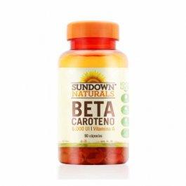 Imagem - Beta caroteno 6000ui SUNDOWN 90 cápsulas