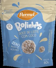 Imagem - Bolinhas doce de leite com coco FLORMEL 60g