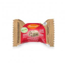 Imagem - Bombom branco com cranberry vegano FLORMEL 15g