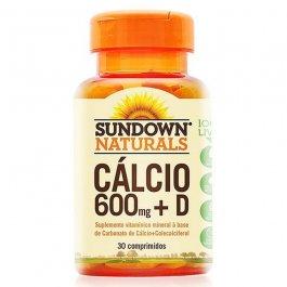 Imagem - Calcio 600mg + D SUNDOWN 30 comprimidos