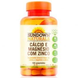 Imagem - Cálcio e magnésio com zinco SUNDOWN 100 comprimidos 140mg