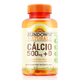 Imagem - Cálcio + Vitamina D SUNDOWN 100 cápsulas 500mg