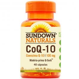 Imagem - Coenzima COQ-10 SUNDOWN 40 capsulas 17,2g