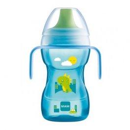 Imagem - Copo de transição fun to drink cup MAM 8 mais meses 270ml boys