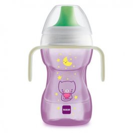 Imagem - Copo fun to drink night MAM 8+ meses 270ml girl
