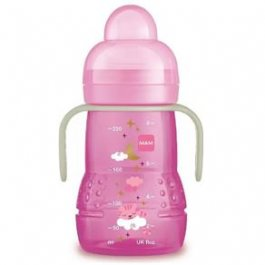 Imagem - Copo trainer night MAM 4+ meses 220ml girl